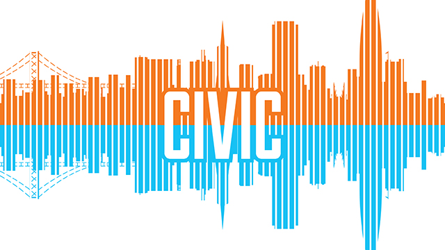 """Civic"" show logo"