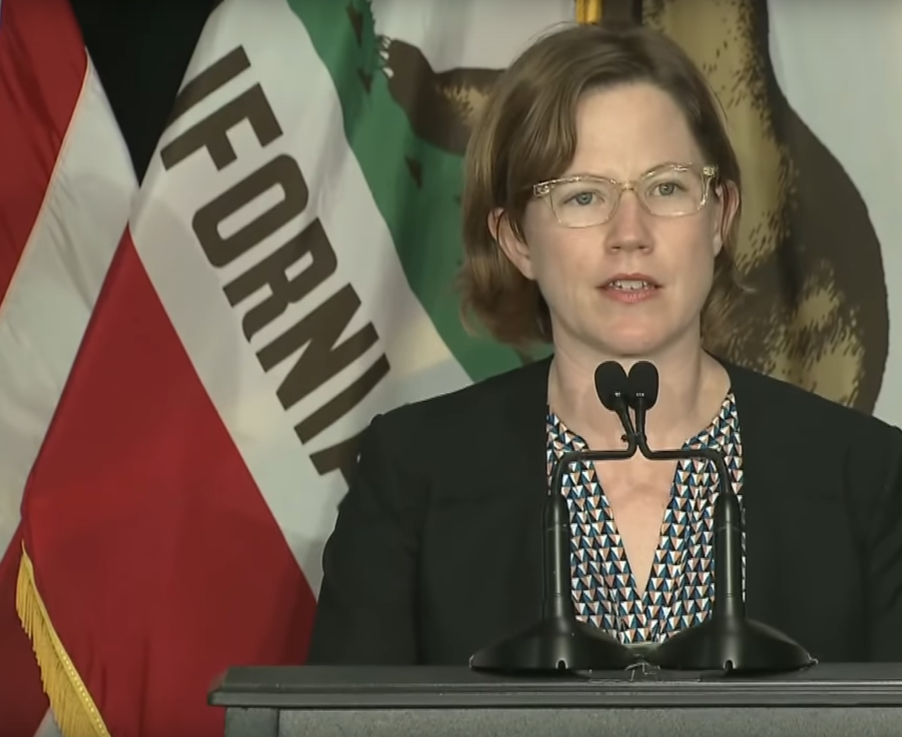 Abigail Stewart-Kahn, interim director of San Francisco's Department of Homelessness and Supportive Housing.