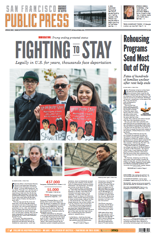 Immigration: Fighting to Stay. Legally in U.S. for years, thousands face deportation.