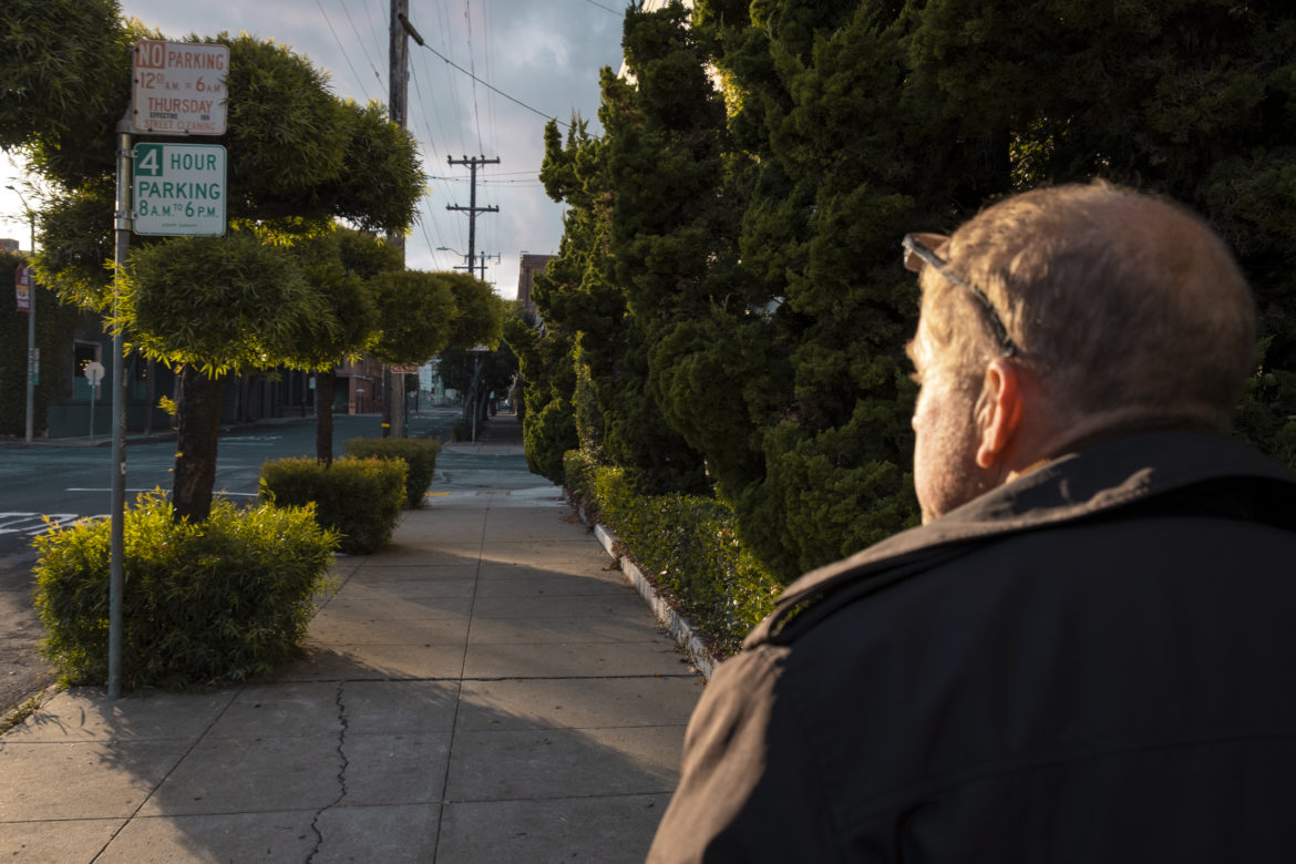 Nelson plays a cat-and-mouse game with the government's enforcement apparatus, as well as with businesses and housed residents, trying to avoid drawing attention while quietly evading local regulations to survive.