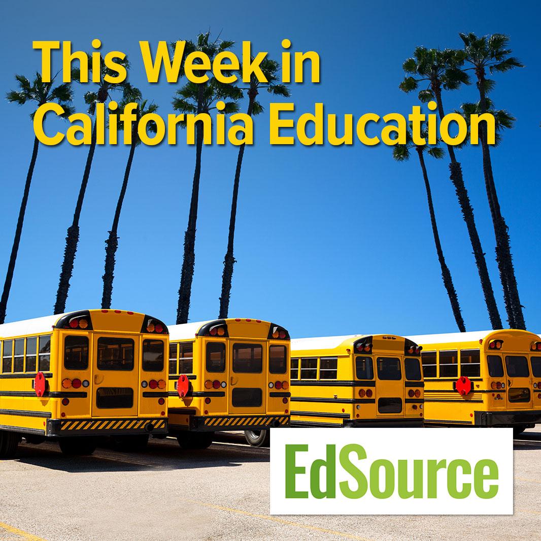 this week in california education logo