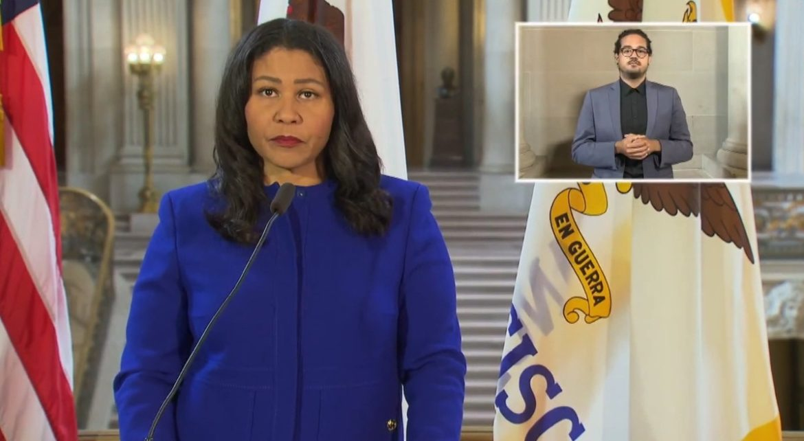 Mayor London Breed.
