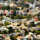 California courts voted to allow a moratorium on evictions and foreclosures to expire, putting many residents at risk of losing their homes. Eviction bans in San Francisco, pictured, and other localities are unaffected by the move.