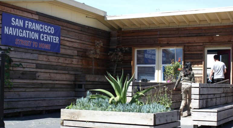 This Navigation Center in the Mission, opened in March 2015, was one of the first to serve San Francisco's homeless population. In early 2019, development began on a plan to turn the site into 157 affordable-housing units.