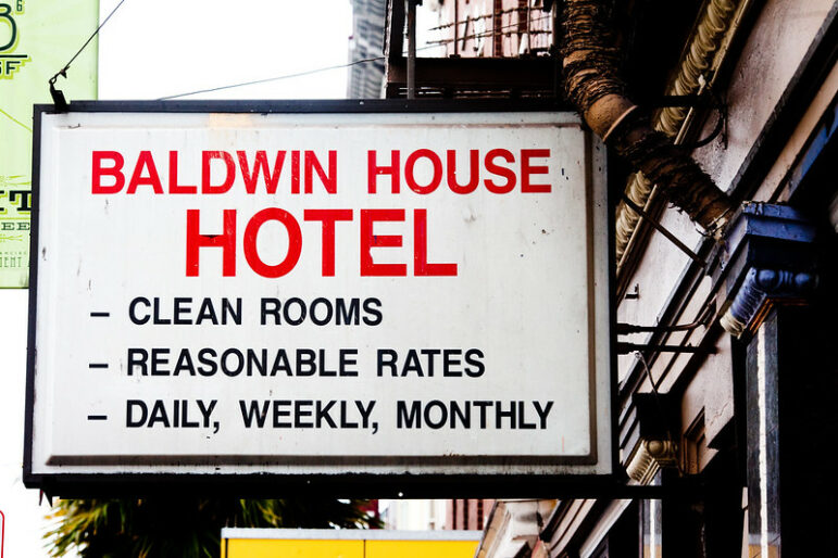 San Francisco's Baldwin House Hotel has 58 vacancies. It provides permanent supportive housing for people experiencing homelessness.