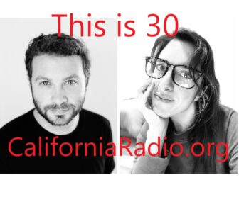 """""""This is 30"""" podcast logo"""