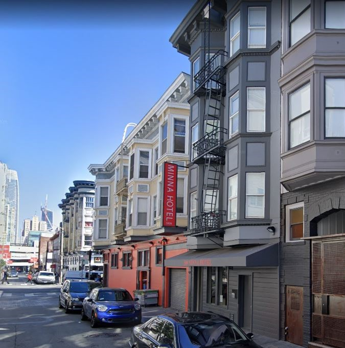 The recently renovated Minna Hotel is one of several for sale in San Francisco, which has been notified by more than 70 hotels that they would be willing to sell it their properties.
