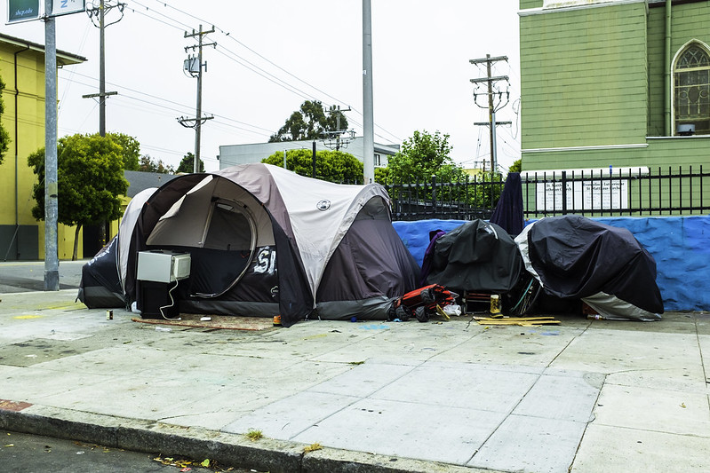 People living on the streets of San Francisco, like the residents of these tents, will have a higher likelihood of accessing housing due to a new ordinance.