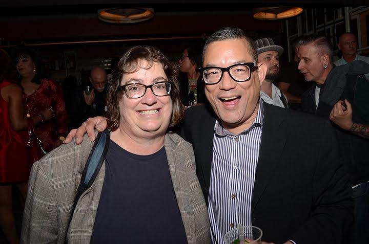 Bay Area Reporter Editor Cynthia Laird and Publisher Michael Yamashita