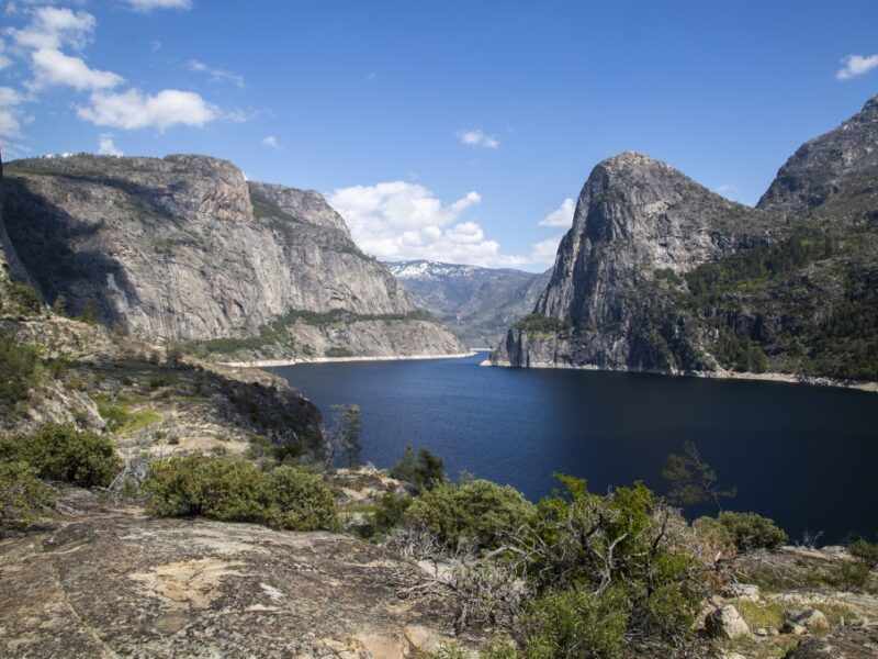 Hetch Hetchy Reservoir, a key source for water in San Francisco. Photo courtesy of the San Francisco Public Utilities Commission.