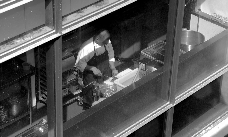 A restaurant worker in Atlanta, Ga. in 2013